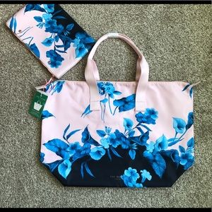 Brand New Ted Baker Foldaway Tote